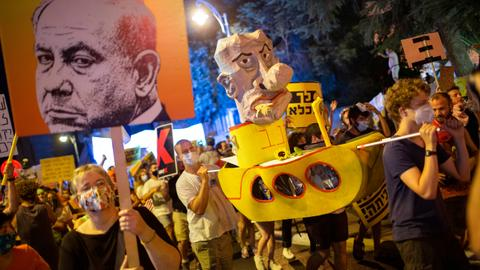 Thousands attend anti-Netanyahu protests across Israel