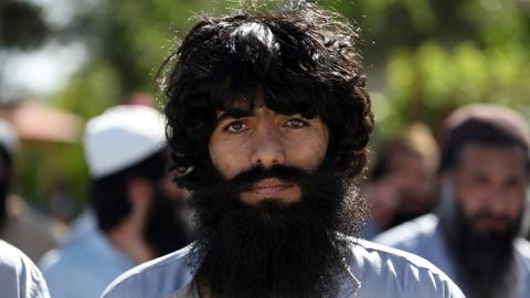 Afghan government releases more than 300 Taliban prisoners