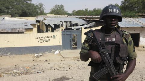 Suspected Boko Haram militants kill scores of people in northern Cameroon