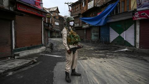 Kashmir under curfew ahead of Indian clampdown anniversary