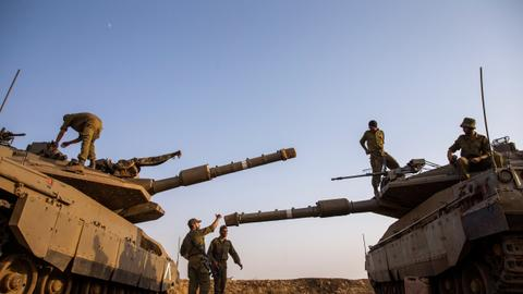 Israel bombs southern Syria in retaliation for foiled Golan attack