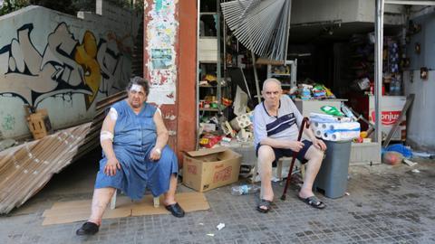 Lebanon wakes up to utter devastation after Beirut blast