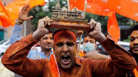 India's Ayodhya temple lays bare ruling party's move to extreme right
