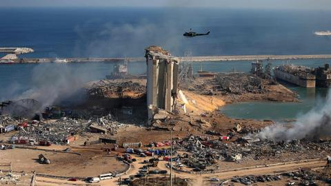 Lebanon's Aoun promises transparent probe into powerful Beirut blast