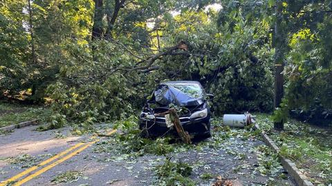 Deaths as Tropical storm Isaias lashes US east coast