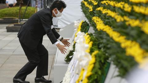 Hiroshima marks 75 years since US atomic bombing