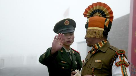 China: Indian troop withdrawal a precondition for peace