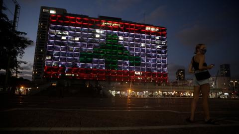 Prominent Israelis are angry at a solidarity gesture for Beirut victims