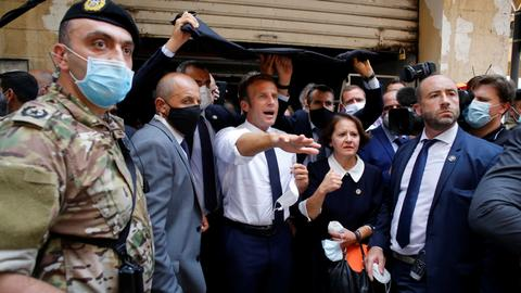Macron is no saviour, he is helping to reinforce the status quo in Lebanon