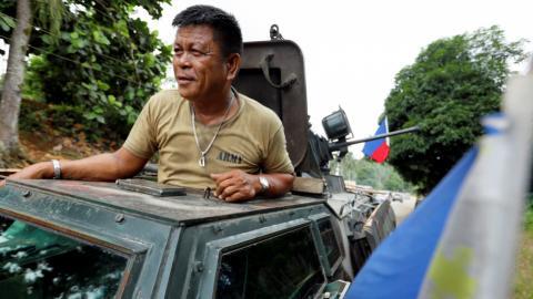 Philippine army arrests Maute militants' main financier