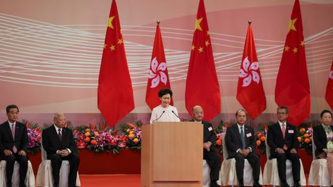 Hong Kong, Chinese officials condemn sanctions imposed by US