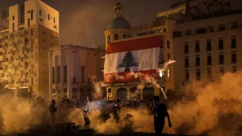 Lebanese protesters storm several ministries as anger grows