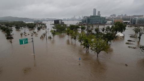 Floods, landslides kill dozens during monsoon rains in South Korea