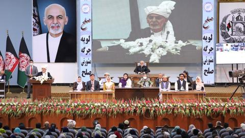 Afghan grand assembly approves release of 400 death row Taliban prisoners