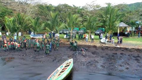 Operator of Japanese ship apologises for oil spill along Mauritius coast
