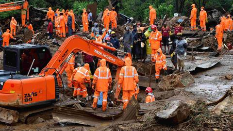 India tea plantation landslide death toll rises, many still missing