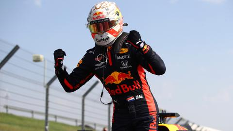 Red Bull's Verstappen ends Mercedes' winning streak in Formula One