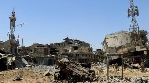 Infrastructure in Iraq's Mosul badly hit