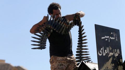 Eastern Libya commander Haftar says his forces control Benghazi