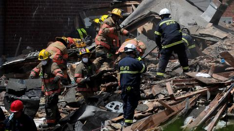 Baltimore gas explosion destroys homes, causes casualties