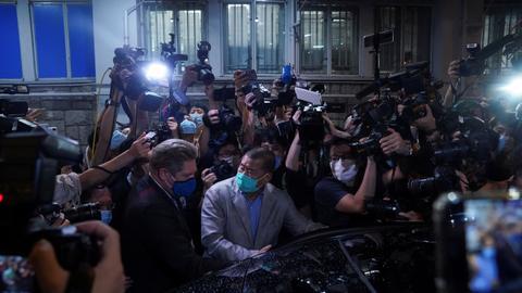 Anti-Beijing media tycoon Jimmy Lai freed on bail in Hong Kong