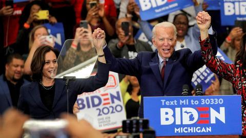 Biden picks California Senator Kamala Harris as running mate