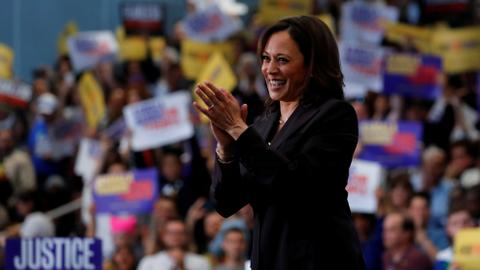 How Kamala Harris built her political identity