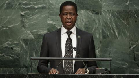 Zambia's president declares state of emergency