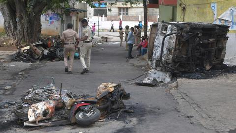 Violent clashes over derogatory Facebook post turn deadly in India