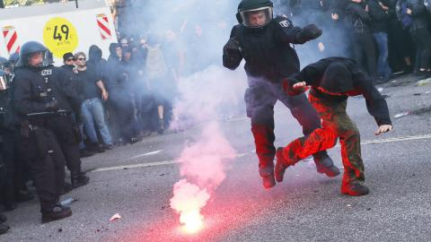 Anti-G20 march called off after clashes: police
