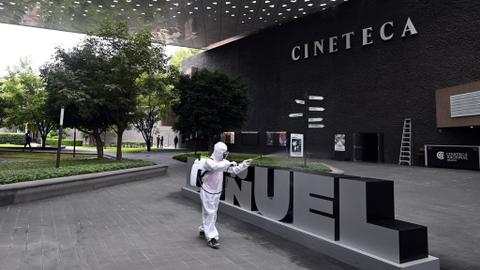 Virus-hit Mexico City reopens museums, cinemas