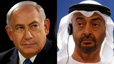 Netanyahu talks of 'history' but Palestinians call UAE deal 'betrayal'