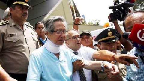 Peru's jailed ex-leader Fujimori hospitalised with irregular heartbeat