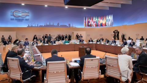 Trade negotiated but climate remains sticking point at G20 summit