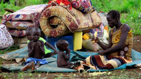 More than 2 million children displaced in South Sudan