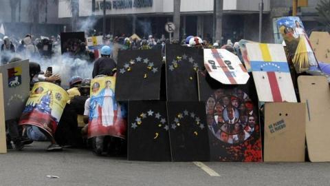 Venezuelan artists find a creative way to express their defiance