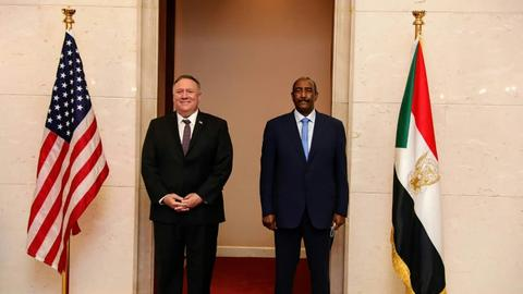 Sudan, US officials to discuss removing Khartoum from terror list
