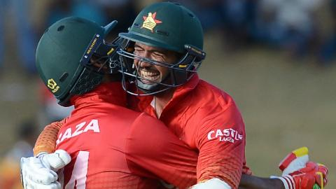 Zimbabwe claim historic ODI series in Sri Lanka