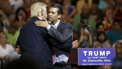 Trump Jr admits meeting Russian lawyer to get dirt on Hillary Clinton