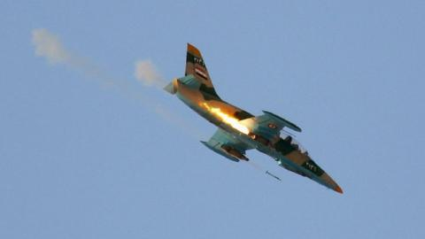Rebels shoot down regime plane in Syria near ceasefire zone