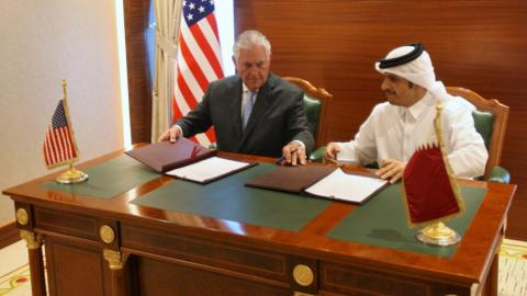 Qatar and US sign agreement on combatting terrorism