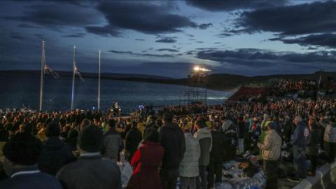 Thousands mark 101st anniversary of Gallipoli landings