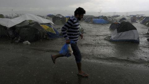 'Safe zone' calls for Syrian refugees in an unsafe country