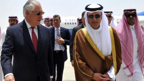 No breakthrough in Gulf crisis as Tillerson heads back to Qatar