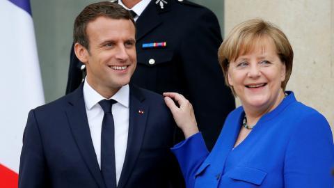Merkel and Macron lead joint cabinet meeting to rejuvenate EU