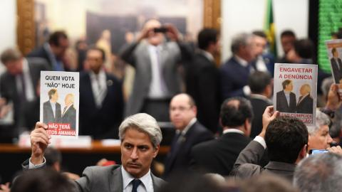 Brazil panel votes against putting Temer on trial for corruption