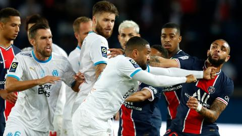 Neymar backed by PSG after on-pitch brawl ends with claim of racist abuse