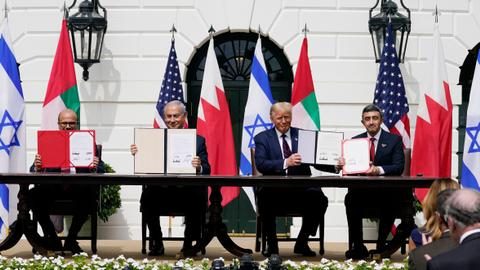 Israel, Bahrain, UAE sign US-brokered normalising deal