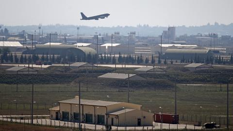 Pentagon denies eyeing Greece as replacement to Turkey's Incirlik Air Base