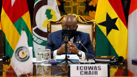 ECOWAS urges Mali's junta to complete transition before Sept 23